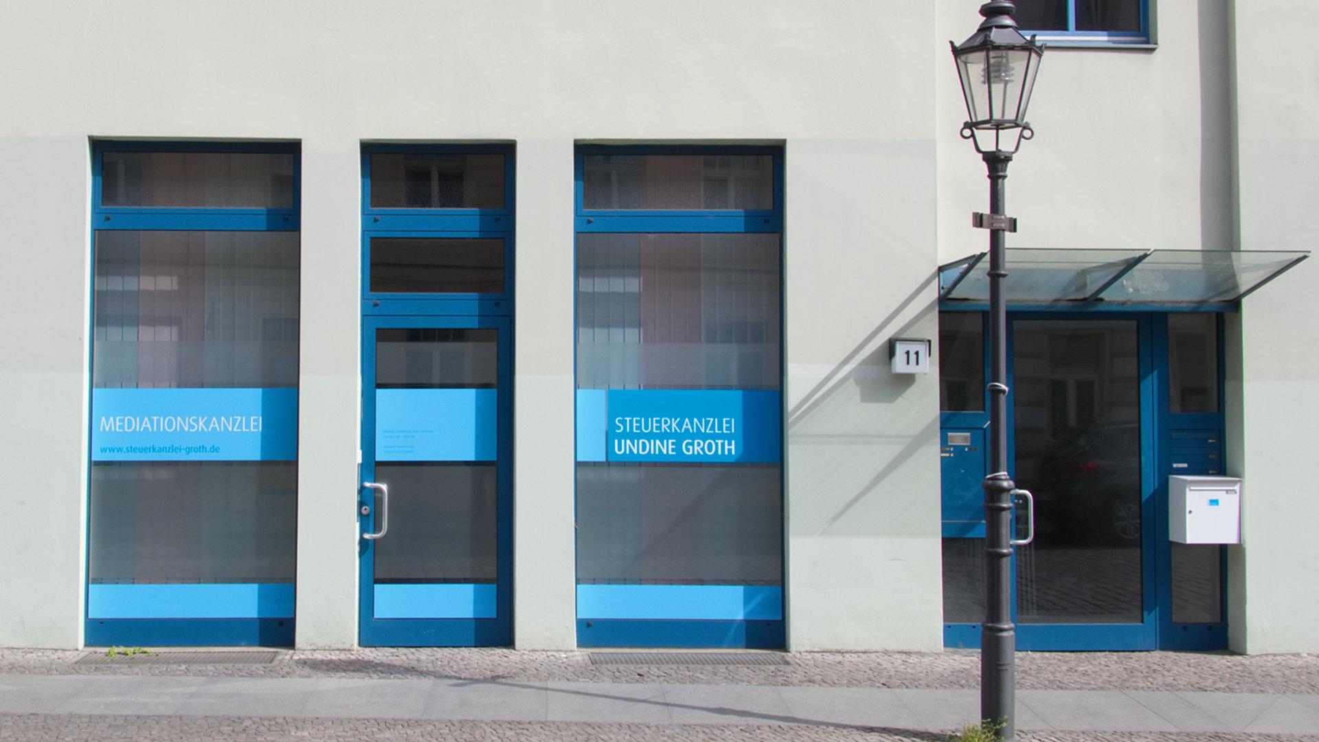Steuerkanzlei Undine Groth in der Plauer Straße 11 in 14770 Brandenburg an der Havel