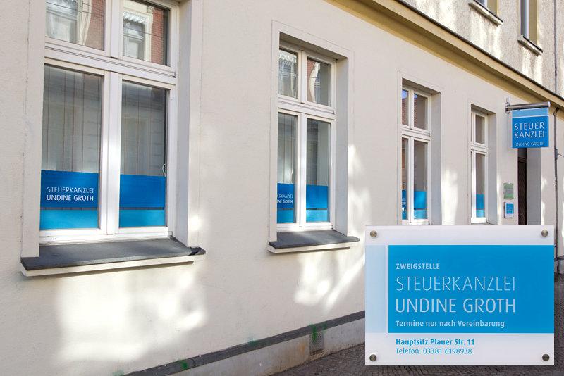 Steuerkanzlei Undine Groth - Zweigstelle in der Ritterstraße 102